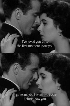 """""""A place in the Sun"""" 1951 Liz Taylor & Montgomery Clift Dir: Georges Stevens"""