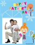 Happy Father's Day Scrapbook Pages #FathersDay #Party #Ideas #DIY #Printable #cards #invitations #crafts for #kids