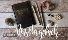 DIY: Reisetagebuch aus einem alten Buch / Anleitung, Buchbinden, Tagebuch, Reisen, Urlaub