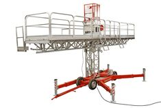 Taurus is the middle heavy weight workhorse of Scanclimber's mast climbing work platforms. It is the perfect tool for any facade work that requires high capacity, whether for new construction or restoration. Temporary Work, Scaffolding, How To Level Ground, Staging, Taurus, Platforms, Climbing, Role Play, Mountaineering