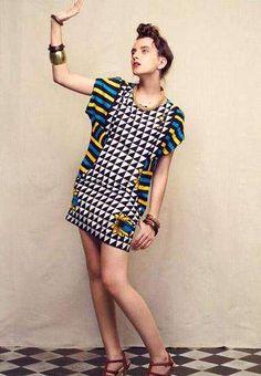 Vintage African Fashion [more at pinterest.com/azizashopping]