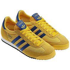 wholesale dealer 921d3 ae579 Adidas Originals Dragon NC Q20829 Sunshine Blue White Men Running Shoes  Trainers