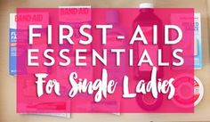 How To Pack A First Aid Kit For An Accident Prone Single Lady... | Frugal Beautiful | Bloglovin'