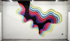 Limbus - Desde 2009, o artista 1010 começou a colorir as ruas da cidade Hamburgo, na Alemanha, criando imagens que pareciam portais coloridos. A sensação é de que realmente é possível entrar nas paredes, mas tudo não passa de uma ilusão criada pelas muitas camadas de tintas de diversas cores utilizadas pelo artista na composição das imagens.