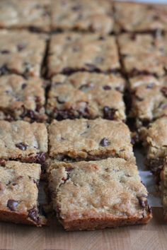 Blondies from Americas Test Kitchen