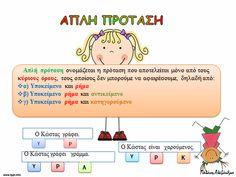 Greek Language, Grammar, Family Guy, Teaching, Education, School Stuff, Classroom Ideas, School, Greek