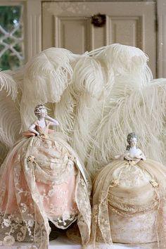 Charming - pin cushion dolls