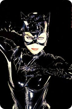 "Michelle Pfeiffer as Catwoman in ""Batman Returns."""