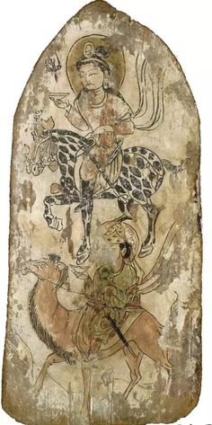 Mogao caves Travel in Gansu -Dunhuang frescoes appreciation - Page 2 of 2 - Best Asian travel guide Turkic Languages, Semitic Languages, Mystery Of History, Art History, Dunhuang, Blue Green Eyes, Tibetan Art, Indian Language, China