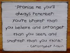 Christopher Robin - my favorite.