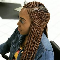 85 Box Braids Hairstyles for Black Women - Hairstyles Trends Box Braids Hairstyles, Lemonade Braids Hairstyles, My Hairstyle, African Hairstyles, Girl Hairstyles, Hairstyles 2018, Trending Hairstyles, Teenage Hairstyles, Summer Hairstyles