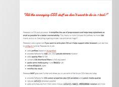 Pleeease - a CSS post-processor - http://pleeease.io/
