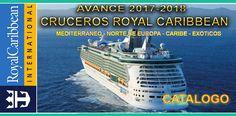 CATALOGO AVANCE TEMPORADA 2017-2018 ROYAL CARIBBEAN – Cruceros Vips