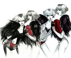 Connie Lim Fashion Illustration