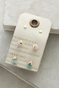Futurist Earrings Set - anthropologie.com