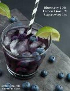Un soupçon de myrtille, un zeste de citron vert, créez votre recette e liquide DIY Blueberry Limonade!