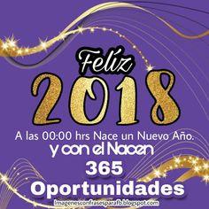 Imagenes con Frases para celebrar el Año Nuevo 2018 #frases Happy New Year 2018, Inspirational Phrases, Condolences, Holidays And Events, Wish, My Love, Memes, Quotes, Christmas