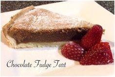 Chocolate Fudge Tart Bellini Recipe, Chocolate Fudge, Tiramisu, Tart, French Toast, Baking, Breakfast, Ethnic Recipes, Food