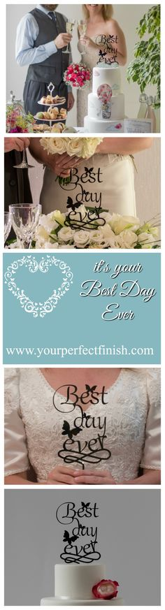 Let everyone know it's your Best Day Ever. Shop now for more cake toppers at…