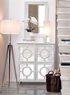 Mini console.... Bouclair Bouclair Home, Small Condo, Hallway Decorating, Home Decor Items, Home Accents, My Dream Home, Accent Decor, Sweet Home, New Homes