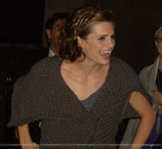 #StanaKatic greeting fans outside of Jimmy Kimmel Live (2009)