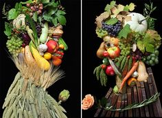 http://www.inspirefusion.com/creative-portraits-made-of-fruits-vegetables-flowers/