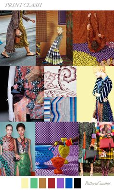 PRINT CLASH by PatternCurator for Fashion Vignette