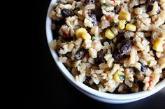 Read It & Eat: Brown Rice with Black Beans *plan to 1/2 recipe