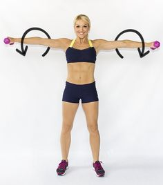 Buh- Bye Bat Wings: Exercises to Cut the Upper Arm Fat- for my relief society wings prevention program