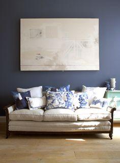 Padrões orientais - Bluebellgray cushions
