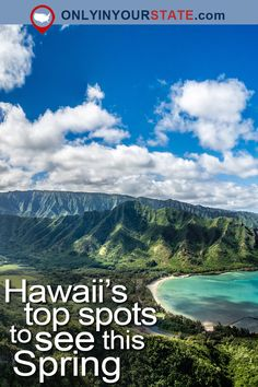 Travel | Hawaii | Attractions | Things To Do | Bucket Lists | Road Trips | Day Trips | Adventure | USA | Places To Visit | State Parks | Trails | Beaches | Treehouse | Farms