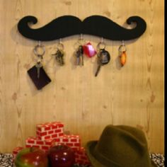 Genial Does This Match Your House @tiraadelman? Mustache Home Decor Key Holder