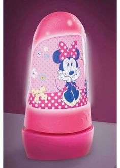 Minnie Mouse Bedroom Decor | ... Rooms > Mickey & Minnie Mouse > Minnie Mouse Go Glow Night Light - New