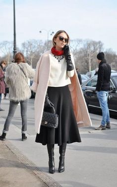 63+ Ideas Skirt Outfits With Boots Classy For 2019 #skirt #boots