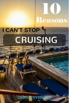 It only took one cruise, a four night voyage on the Norwegian Sky to the Bahamas, for me to fall in love with cruising.  See if you relate with these 10 reasons i can't stop taking cruises.
