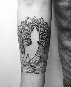 """(@eutattoo) no Instagram: """"Buda = o iluminado ❤️"""""""