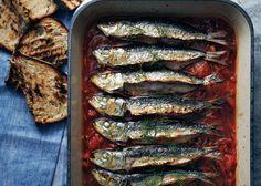 baked sardines in pepperonata / Bon Appetit~ My fav~<3