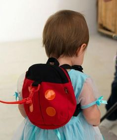 Baby Harness Kids Keeper Cartoon  Backpacks Animal Daysack Ladybug For  Children 93bda95479158