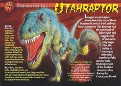 Jurassic World, Names Of Dinosaurs, Mysteries Of The World, Monster Book Of Monsters, Creepy Facts, Extinct Animals, Dinosaur Art, Wild Creatures, Prehistoric Creatures