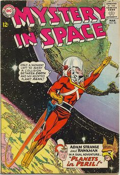 Mystery in Space 90 1964 Adam Strange cover by Carmine Infantino and Murphy Anderson