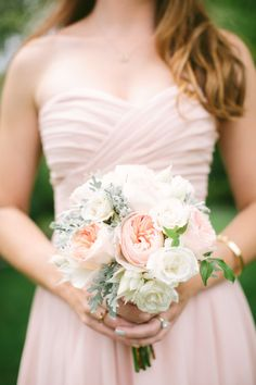 Bridesmaid bouquet: http://www.stylemepretty.com/california-weddings/rancho-santa-fe/2015/03/06/romantic-meets-rustic-backyard-wedding/ | Photography: Vis - http://visphotography.com/