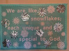 Winter bulletin board for cold climates. Winter bulletin board for cold climates. Religious Bulletin Boards, Christian Bulletin Boards, Winter Bulletin Boards, Preschool Bulletin Boards, Classroom Bulletin Boards, Bullentin Boards, Classroom Door, Winter Bulliten Board Ideas, January Bulletin Board Ideas