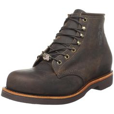 Chippewa Men's 6' Steel Toe EH 20066 Lace-Up Boot *** Hurry! Check out this great shoes : Boots for men