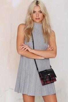 UNIF Sadi Ribbed Dress - What's New