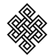 Tibetan Buddhist Symbols - Endless knot
