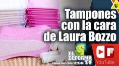 Nueva línea de tampones con la cara de Laura Bozzo