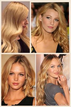 Love this golden blonde hair color