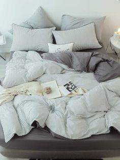 86a442ab97 Negozio Zigzag Set di fogli Bianco Set di biancheria da letto on-line. SheIn