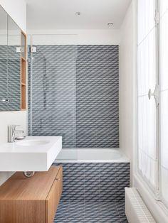 Geometric porcelain tiles, Mutina