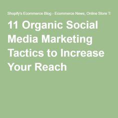 11 Organic Social Me